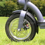 Carbon Steel Electric Scooter/Light Weight Electric Bike with 36V300W Brushless Motor
