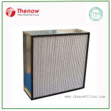 Deep-Pleat HEPA Filter for Pharmaceutical Factory (Manufacturer) , H10~H14