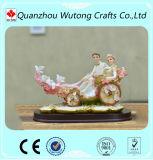 Resin Wedding Crafts Lovers Flower Car Design Resin Decoration