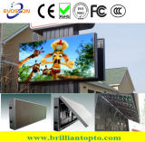 Outdoor P10 Front Open LED Sign Board with Light&Temp. Sensor