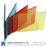 6mm Thick Decorative Laminated Frosted Safety Glass