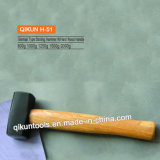 H-51 Construction Hardware Hand Tools Hardwood Handle German Type Stoning Hammer