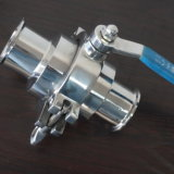 Stainless Steel Non Detension Sanitary Ball Valve