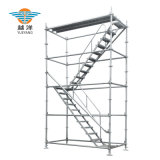 Ringlock Scaffold Tower with Stair for Aerial Work