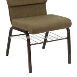 Iron Upholstered Chair Dining Modern Cheap Church Chair