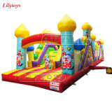 0.55mm PVC Ce Hot Sale for Adults 5K Inflatable Obstacle Course Lilytoys