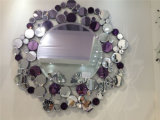 Hand Craft Crystal Wall Mirror Glass Wholesale Broken Silver Mirror