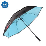 Women Fashion Custom Black Gel Coated UV Resistance Umbrella