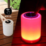 LED 7 Colors Outdoor Bluetooth Portable Mini Speaker with Touch Screen