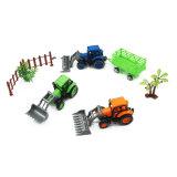 Kids Plastic Toys of Mini Farm Tractors Pull Back Car
