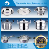 201 Circle Ddq No. 4 Stainless Steel Circle for Kitchenware