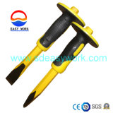 Drop Forged Cold Chisel/Stone Chisel with Bi-Material Handle