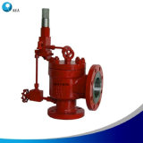 API 526 Conventional Design High Efficiency Pilot Operated Safety Valve