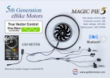 Programmable, Built-in Controller, Magic Pie 5 Hub Motor E Bike Kit and Smart Pie Electric Bicycle Conversion Kit