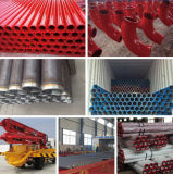 Heavy Duty Concrete Pump and Boom Used Double Wall Pipe