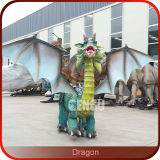 Chinese Dragon Decorations Amusement Rides