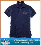Garment Dyed Golf Polo Shirt with Embroidery Logo