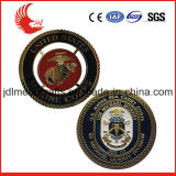 China Wholesale 3D Double Side Brass Blank Metal Coin