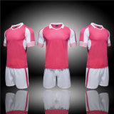 Pink 100% Ployester Dry Fit Breathable OEM Plain Club Shirts