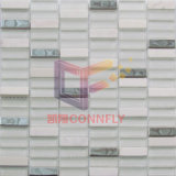 Stainless Steel Mix Glass and Stone Wall Tile (CFS715)