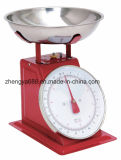 Supermarket Dedicated Stainless Steel Bowl Mechanical Fruit Vegetables Scale