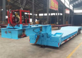 Lowboy Lowbed 3 Axle 80 Ton Heavy Duty Gooseneck Low Loader/Lowbed/ Lowboy Low Bed Trailer Price Truck Semi Trailers for Excavator Transport