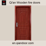 China Entry Wood Fireproof Fire Rated Door with Perlite Board