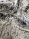 High Soft Silver Faux Fur for Collars