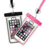 PVC Universal Waterproof Cell Phone Bag Pouch for Swimming, Hiking, Diving
