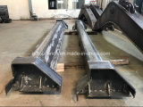 OEM CNC Machining Steel Beam Stress Relieving After Welding & Cutting