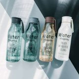 Plastic Bottle Manufacturers with Cup Cover Water Bottle with 520ml