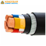 Low Voltage Copper/Aluminum Conductor XLPE/PVC Insulated Swa Armoured Electrical Power Cable 0.6/1kv