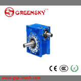 Good Quality Right Angle Nmrv Worm Gear Speed Reducer / Solid Shaft Gearbox