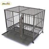 Multicolor (Black & Silver) Animal Kennels Dog Cat Cage