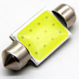 Lightech Bright White COB LED Festoon 36mm C5w Wedge Interior Dome Number Light