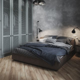 Modern Pictures of Hotel Bed Room Leather Beds Set