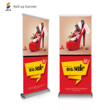 Aluminum Alloy Advertisement Display 85*200cm Roll up Retractable Banner for Recruitment