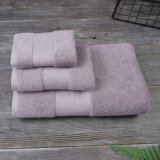 Wholesale Bulk Terry Towels 3 Pack Bath and Face Towel for Wedding Gift Bathroom Towel Set