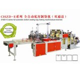 Dual Channel Cold Cutting PE/PLA/Compostable Plastic Bag Making Machine