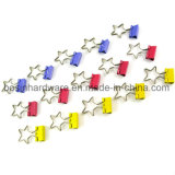 Star Shape Metal Binder Clips