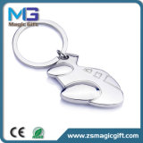 Wholesale Price Promotional Metal 3D Plane Keychain, Key Chain, Key Ring for Giveaway Gift