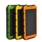Smart Solar Power Bank 6000mAh Solar Charger with LED Dual USB