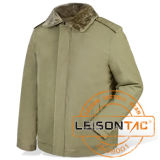 Military Winter Jacket Adopt Nylon and Cotton Fabric