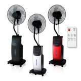 "16"" ABS Electric Water Misting Cooling Portable Comfortable Stand Fans"