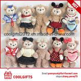 High Quality Soft Plush Bear Pendent Promotion Keychain, Valentine Gift