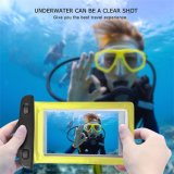 "Universial Touch-Friendly Clear Waterproof Phone Dry Bag for 6"" Smartphone"