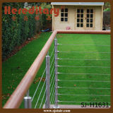 SUS 304# Stainless Steel Cable Railing Balustrade for Balcony / Deck (SJ-H1631)