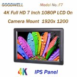 4k HDMI Input/Output 7 Inch Camera Mount LCD Monitor