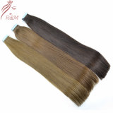 Top Quality Factory Wholesale Price 100% Virgin Human Hair Extensions Tape Hair Prebonded Hiar with Full Cuticles