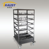 Hotel Delivery Cart for Crowd Control Barrier for Sale